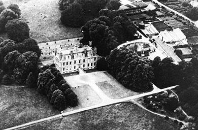 Coleshill House From The Air