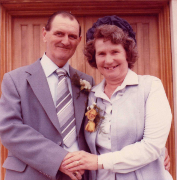 Jim and Phyllis on June 16, 1979 at their son Alan's wedding
