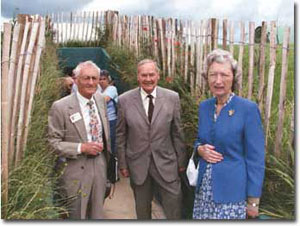 Lord & Lady Ironside. July 2004. (Parham Collection)